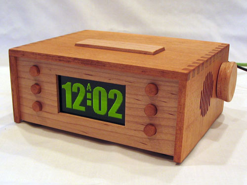 Net connected alarm clock