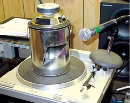 Homemade Leslie speaker