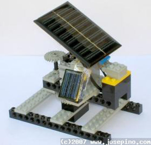 Simple sun tracker