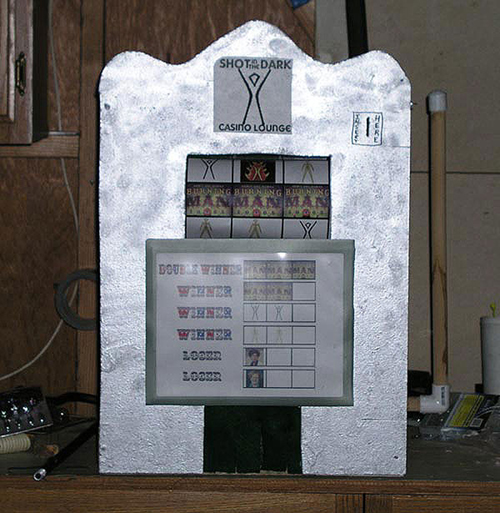 Beverage slot machine