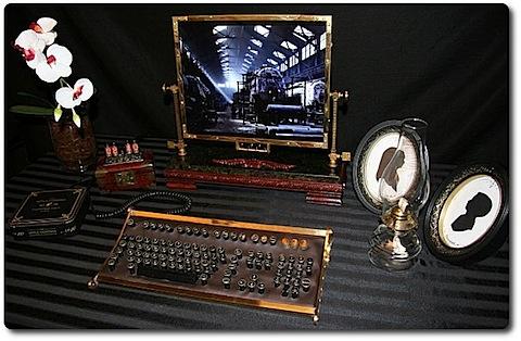Steampunk Workstation