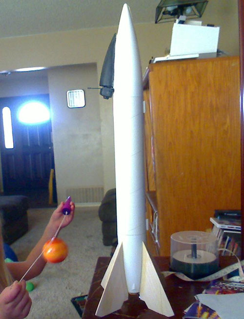 Live-video-rocket readies for launch