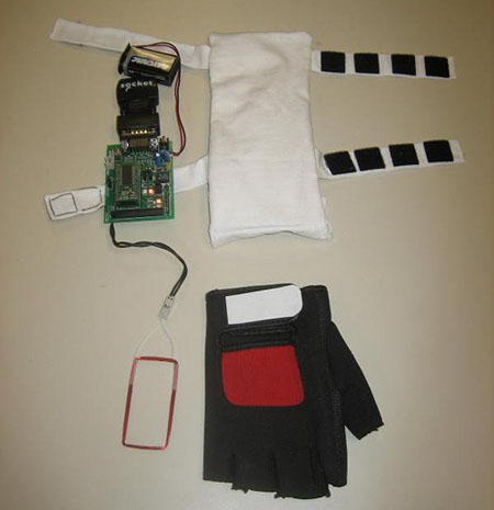Create a wearable RFID reader on the cheap