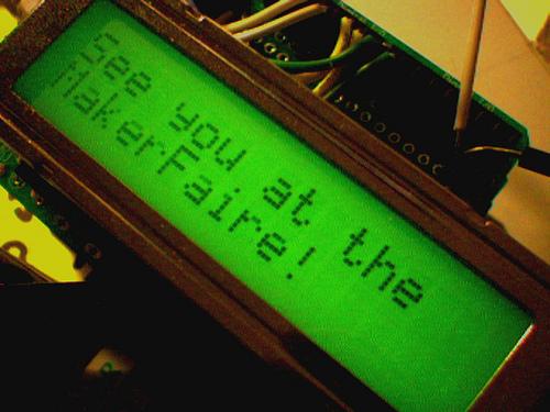 Web -> Arduino ->Flickr