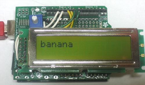 How To – Use an LCD with Arduino