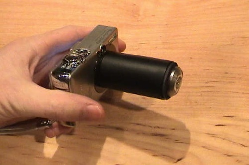PVC Wide-angle and fish-eye camera lens adaptor
