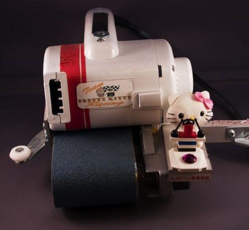 Hello Kitty… power sander?