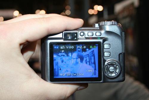 IR digital camera