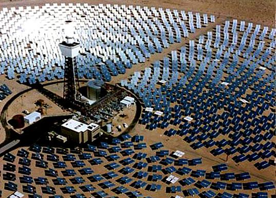 Giant solar grid powers your whole neighborhood
