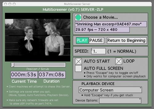 MultiScreener