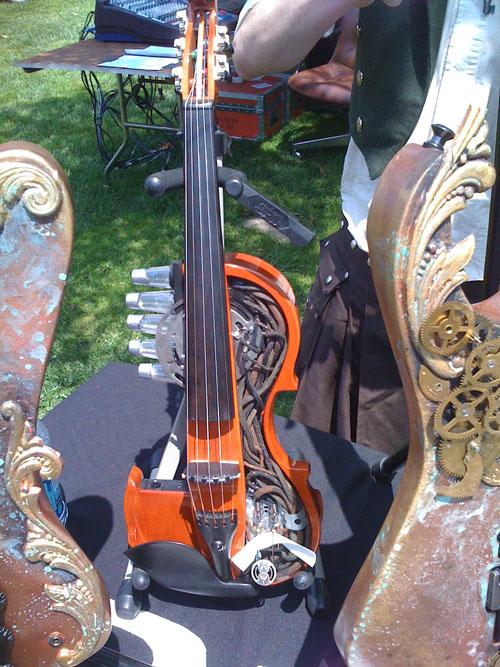 Abney Park violin mod