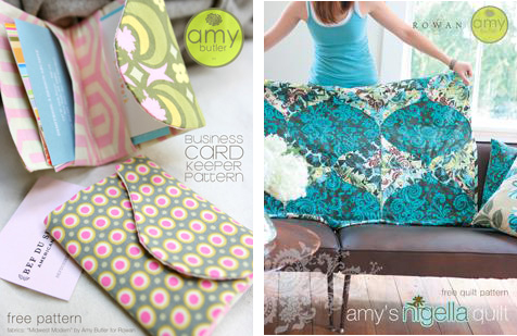 Amy Butler's Free Patterns