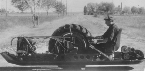 Charles F. Taylor: One-Wheel vehicles