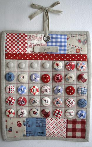 I Heart Linen's Fabric Calendar
