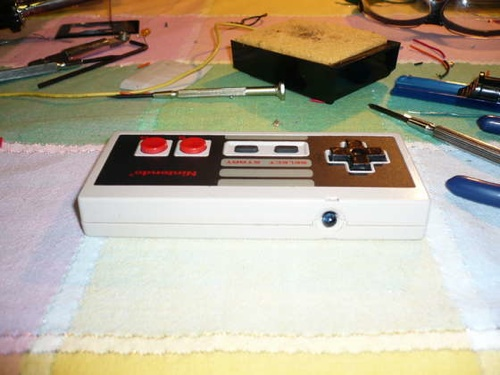 HOW TO – Make a NES controller in to an Apple remote – The NesRemote!