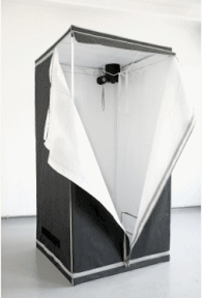 Portable camera obscura will not get you arrested