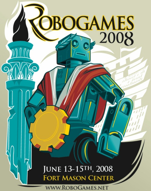 RoboGames 2008 -The world's largest open robot competition – THIS WEEKEND (Bay Area, CA)