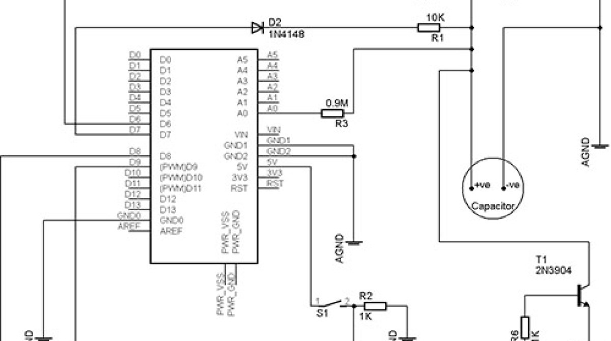 Arduino Capacitance Meter Make And A At Home Homemade Circuit Projects Article Featured Image