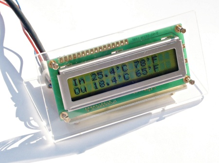 A simple digital thermometer
