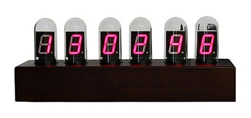 Test Tube Clock: Nixie Knockoff