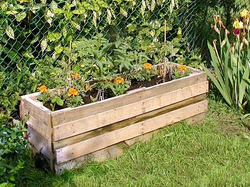 HOW TO – planter from reclaimed pallets