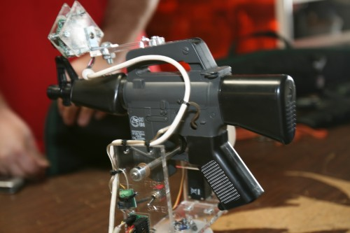 Computer-controlled Airsoft gun