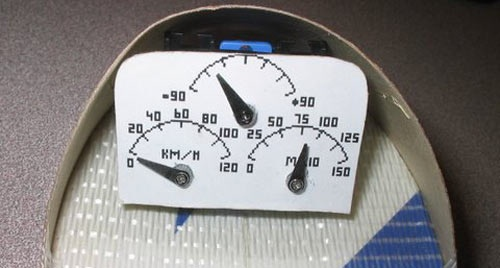 Flight instruments for an RC plane