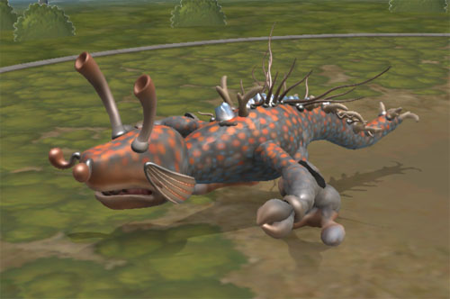 Edit your own animal – Spore creature creator