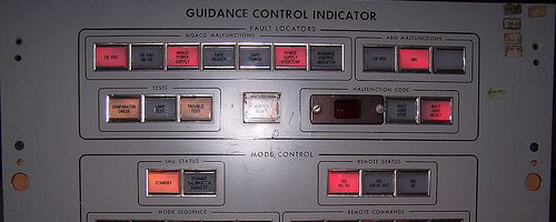 Control panel as art