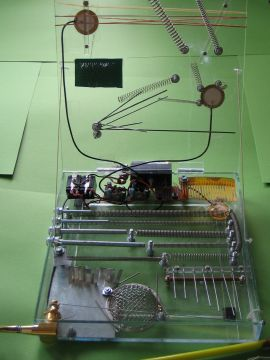 Self-made instruments by Adachi Tomomi