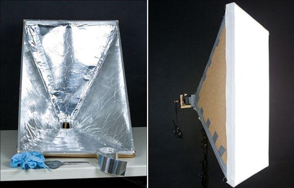 DIY Softbox from an umbrella