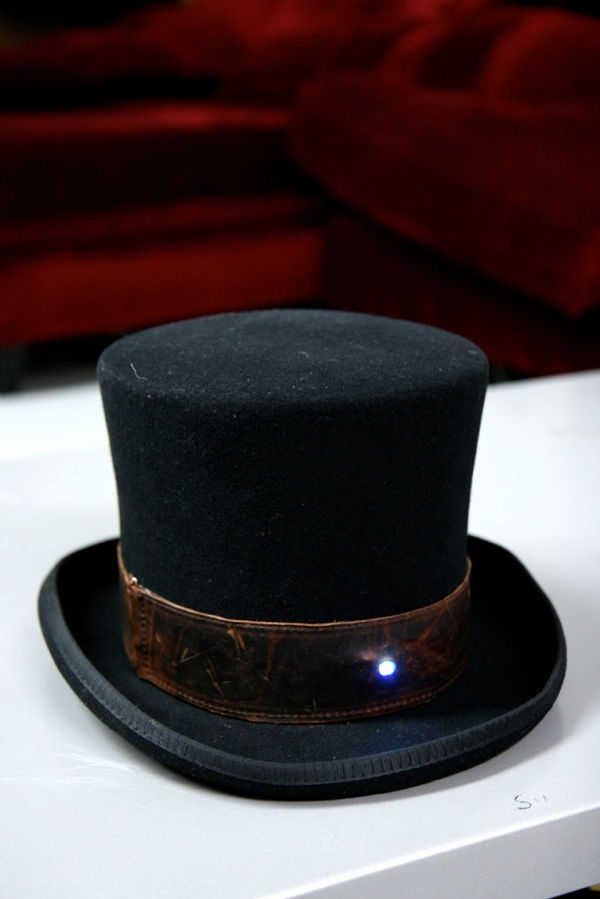 Hatduino… digital compass in a hat
