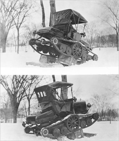 A Souped-up Model T…