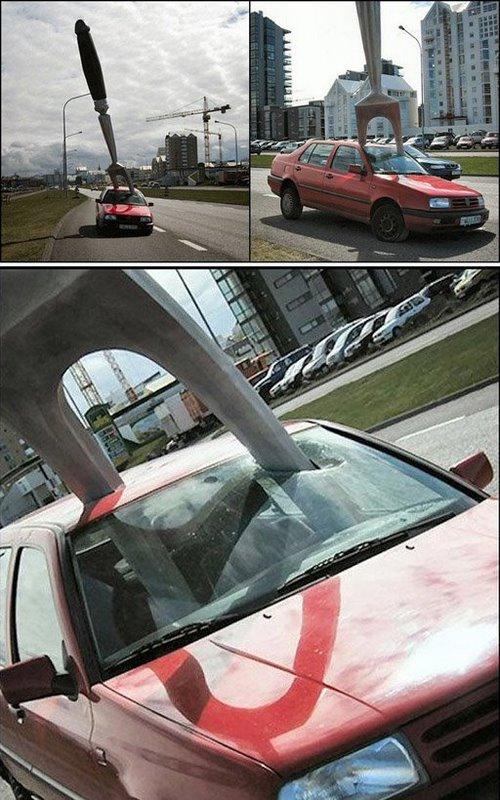Bizarre car accidents