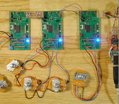 Artbus enables prototyping distributed electronic projects