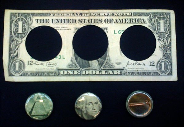 Dollars to buttons