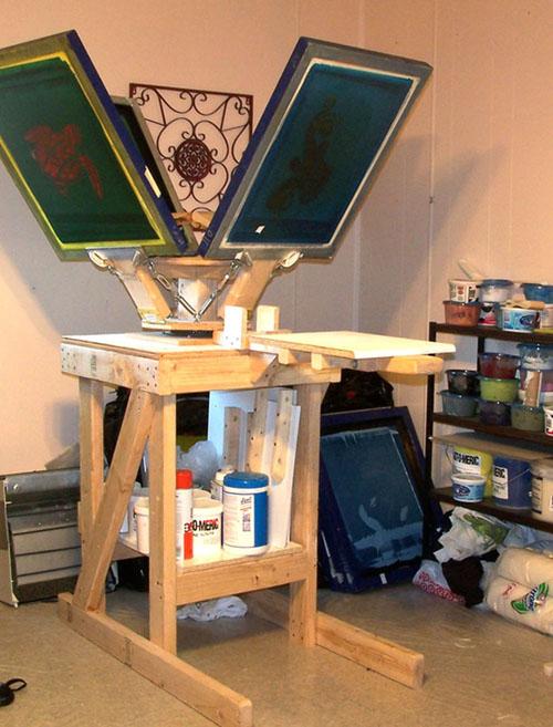 Free: 4 Color Printing Press Plans