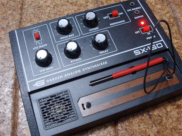 Gakken analog synth kit