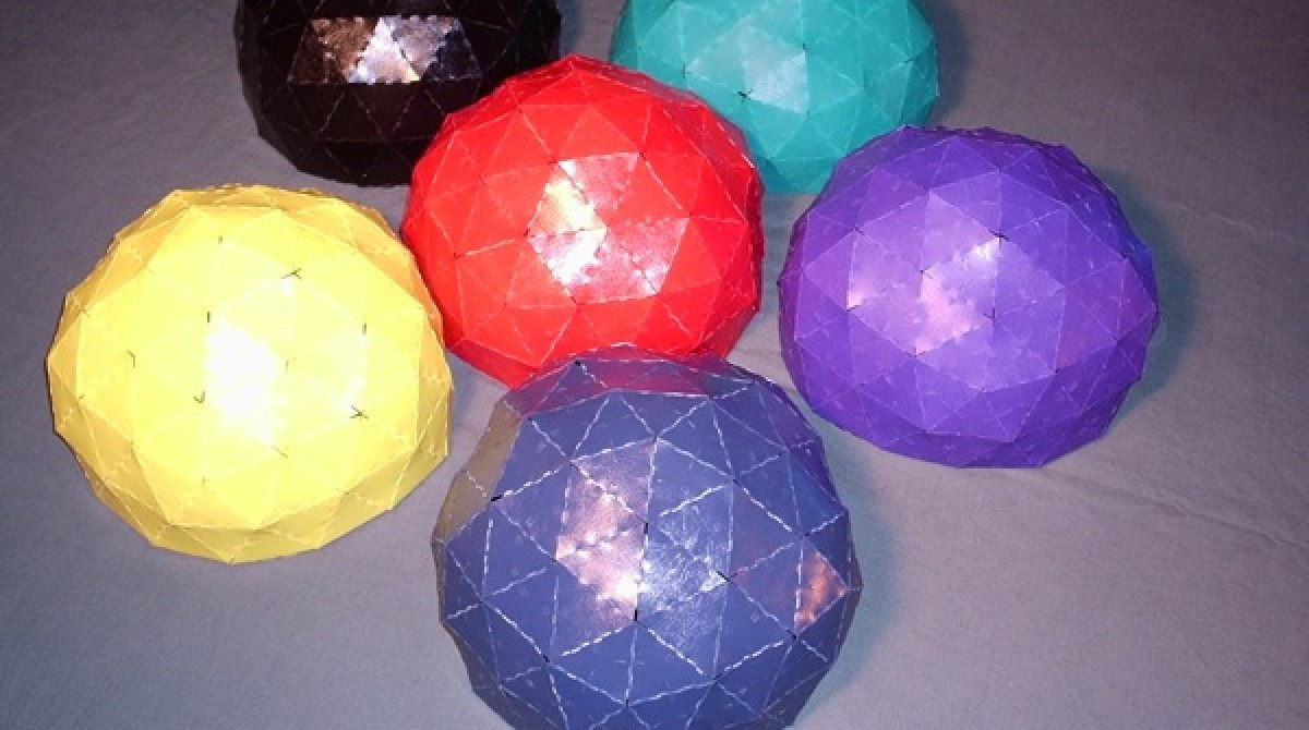 Geodesic dome modeling | Make: