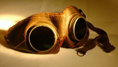 Sew your own aviation goggles