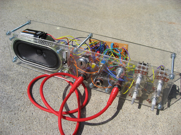 Obnoxious noise maker will scare your neighbors