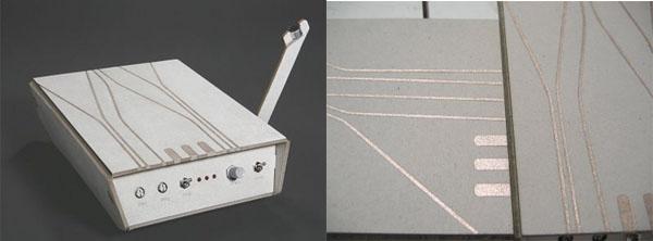 Ohm – lofi cardboard sampler
