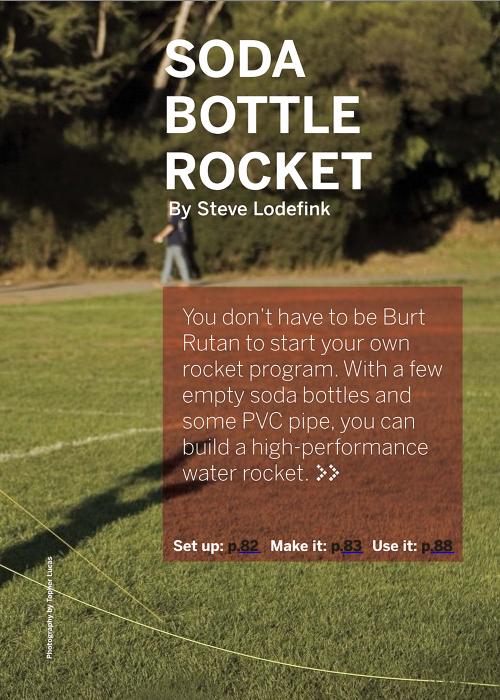 Weekend Project: Soda Bottle Rocket (PDF)