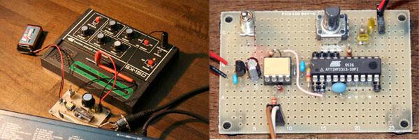 HOW TO – control a Gakken SX-150 via MIDI