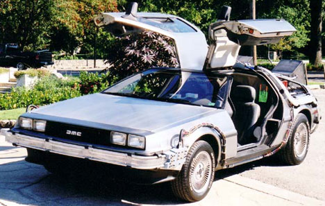 Make doc Brown proud and build a time machine