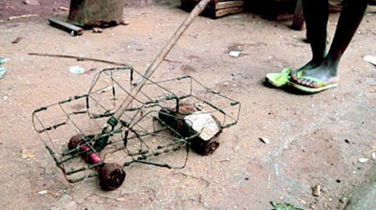 Toys From Africa : Wireframe trucks and push toys from africa make: