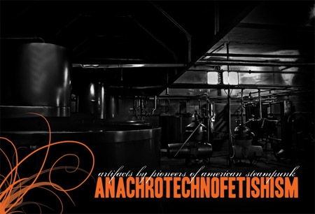 Anachrotechnofetishism art show