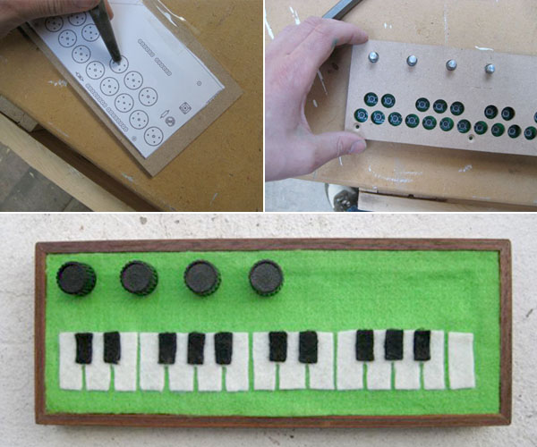 HOW TO – Build an enclosure for the Arduino Pocket Piano