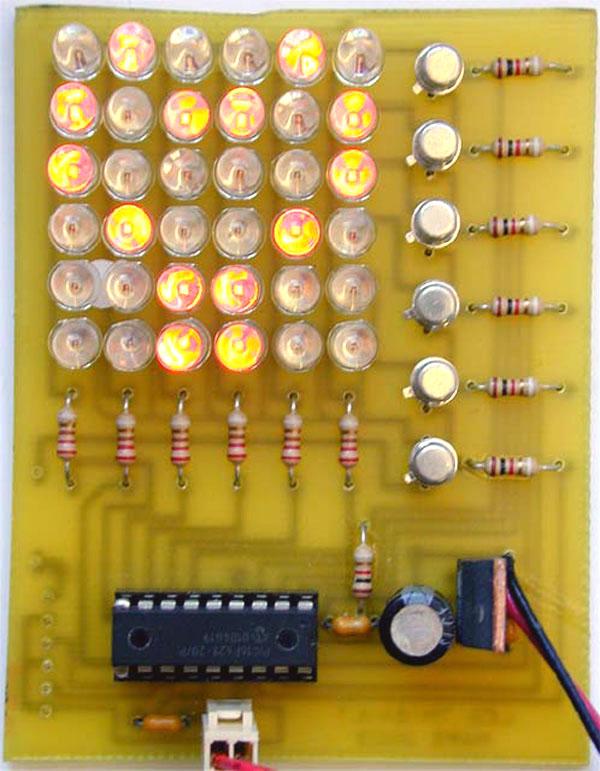"DIY: LED Matrix ""Fancy LED's"""