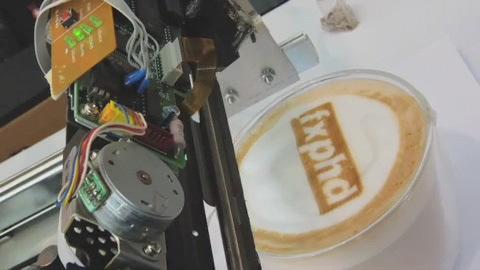 Printing on lattes — OnLatte, Inc…